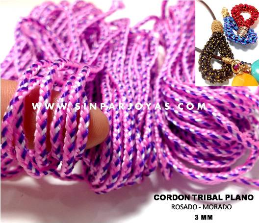 CORDON TRIBAL PLANO MULTICOLOR